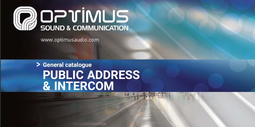 New catalogue of Optimus products
